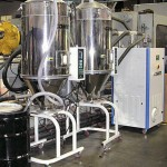 HCD-180 Honeycomb Dryer with 2 CDH-200 Drying Hoppers