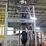 Weigh Blender for Extrusion on platform