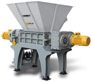 CSL-DS Large, Heavy-Duty, Dual Shaft Shredder