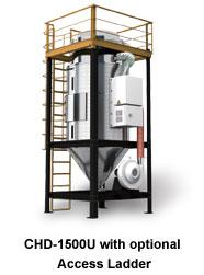 CHD-1500U with optional Access Ladder