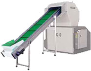 Feeding Hopper for Conveyor