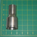 "48520: Stainless Steel 2"" IO x 1.5"" OD Reducer"