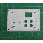 TM-CPV-101-1: Control Front Plate
