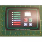 TV-A5-129: Control Box Front Sticker (E-Series)