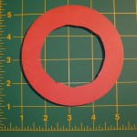 TV-A7-129: Red Silicone Gasket (E-Series, EV-Series)