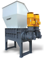 CSL-DS Large Heavy Duty Dual Shaft Shredder