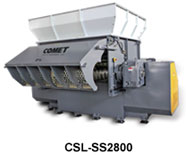 CSL-SS Large Heavy Duty Single Shaft Shredder