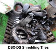 CSX-DS Extreme Duty, Dual Shaft Shredder