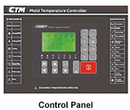 CTM-607-W Control Panel